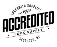 Accredited lock supply